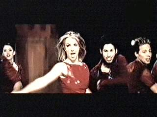Britney Spears in 'I Was Born To Make You Happy'